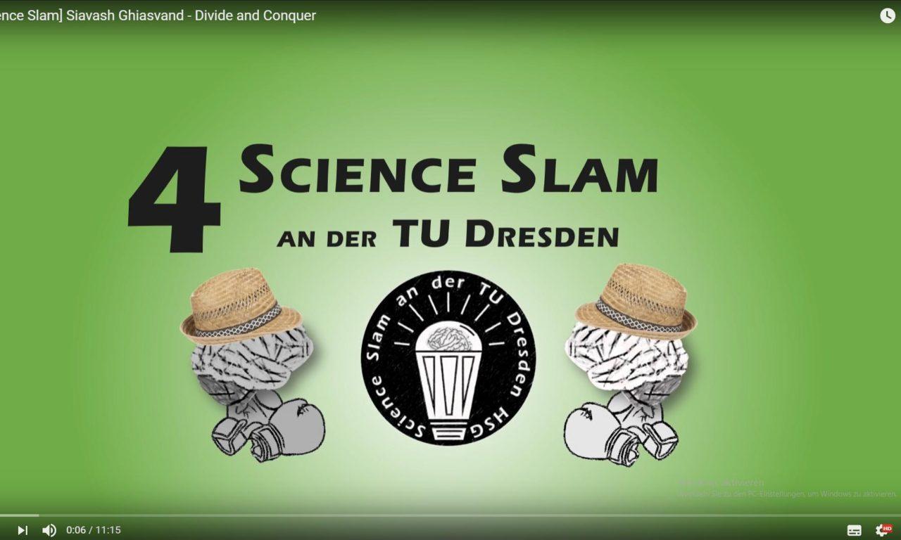 4. Science Slam